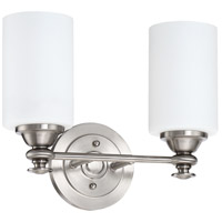 Craftmade 49802-BNK Dardyn 2 Light 13 inch Brushed Polished Nickel Vanity Light Wall Light