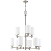 Craftmade 49829-BNK Dardyn 9 Light 29 inch Brushed Polished Nickel Chandelier Ceiling Light