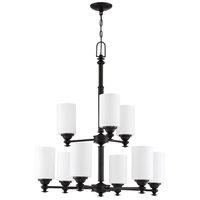Craftmade 49829-ESP Dardyn 9 Light 29 inch Espresso Chandelier Ceiling Light