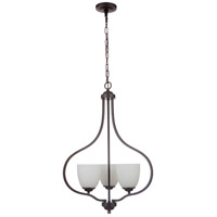 Espresso Steel Serene Foyer Pendants