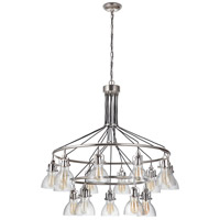 Craftmade 51215-PLN Gallery State House 15 Light 42 inch Polished Nickel Chandelier Ceiling Light