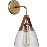 Craftmade 51361-VB Gallery Hagen 1 Light 6 inch Vintage Brass Wall Sconce Wall Light