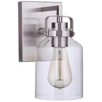 Craftmade 53601-BNK Foxwood 1 Light 5 inch Brushed Polished Nickel Wall Sconce Wall Light