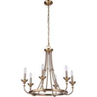 Craftmade 53726-SB Marlowe 6 Light 24 inch Satin Brass Chandelier Ceiling Light