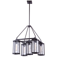 Craftmade 54125-OBG Pyrmont 5 Light 25 inch Oiled Bronze Gilded Outdoor Chandelier