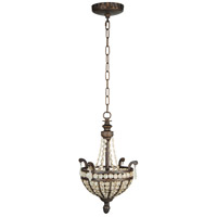 Cortana 2 Light 13 inch Peruvian Bronze Pendant Ceiling Light