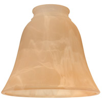 Craftmade 635AMA Signature Amber Alabaster Fan Glass in Amber Alabaster Glass, Bell