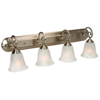 Jeremiah by Craftmade Cecilia 4 Light Vanity Light in Brushed Nickel 7132BN4
