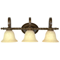 Jeremiah by Craftmade Riata 3 Light Vanity Light in Aged Bronze 8128AG3