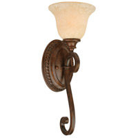 Jeremiah by Craftmade Toscana 1 Light Wall Sconce in Peruvian Bronze 9108PR1