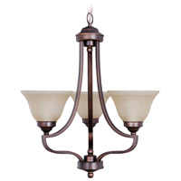Jeremiah by Craftmade Portia 3 Light Chandelier in Metropolitan Bronze 9822MB3
