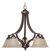 Jeremiah by Craftmade Portia Down-Light 5 Light Chandelier in Metropolitan Bronze 9828MB5