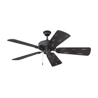 Craftmade American Tradition Ceiling Fan in Flat Black with Flat Black Distressed Blades K11197