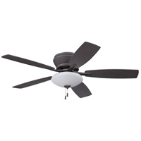 Atmos 52 inch Espresso Ceiling Fan with Blades Included