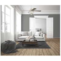 Craftmade Aug60cw4 Augusta 60 Inch Cottage White With Driftwood Blades Ceiling Fan
