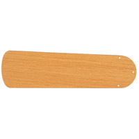 Plus Light Oak Set of 5 Fan Blades in Type 2, MDF Blades, Type 2