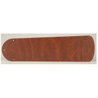 Plus Rosewood Set of 5 Fan Blades in Type 2, MDF Blades, Type 2