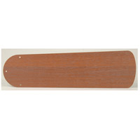 Plus Washed Walnut Birch Set of 5 Fan Blades in Type 2, MDF Blades, Type 2