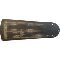 Craftmade B554PD-FB Premier Flat Black Distressed Set of 5 Fan Blades in Distressed Flat Black Type 1