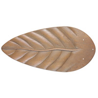 Craftmade B554T-OLOK Tropic Isle Light Oak Outdoor Fan Blades in Type 3, ABS Blades, Outdoor Tropic, Type 3