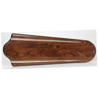 Craftmade B556C-SB8 Custom Carved Classic Walnut/Vintage Madera Set of 5 Fan Blades, Type 1