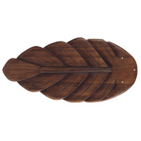 Craftmade B556T-DO2 Tropic Isle Dark Oak Palm Set of 5 Fan Blades Type 1 Palm Leaf