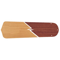 Contractors Standard Ash/Mahogany Set of 5 Fan Blades, Reversible