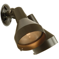 Craftmade BF-2BZ Signature 120V 150 watt Bronze Outdoor Flood Light, Dual Head