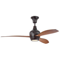 Craftmade BRD52OB3 Bordeaux 52 inch Oiled Bronze with Walnut Blades Ceiling Fan