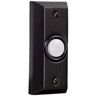 Signature Bronze Lighted Push Button, Rectangle