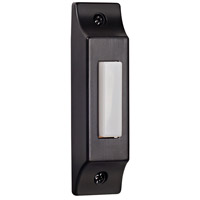 Craftmade Teiber Surface Mount Cast LED Lighted Pushbutton in Hammered Black BSCB-B