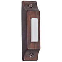 Craftmade BSCB-RB Die-cast Builders Rustic Brick Lighted Push Button