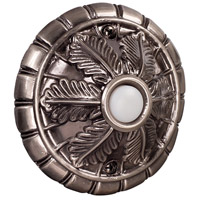 Craftmade Teiber Surface Mount Medallion LED Lighted Pushbutton in Antique Pewter BSMED-AP