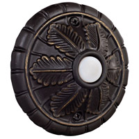 Medallion Antique Bronze Lighted Push Button