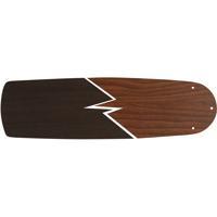 Craftmade BSUA56-TKWN Supreme Air Teak and Walnut Set of 5 Fan Blades in Teak/Walnut