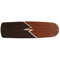 Craftmade BSUA62-TKWN Supreme Air Teak and Walnut Set of 5 Fan Blades in Teak/Walnut