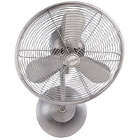 Craftmade BW116BNK3-HW Bellows I 21 inch Brushed Polished Nickel Wall Fan in Hardwire, Hard-Wired, Blades Included