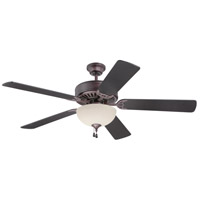 Craftmade Pro Builder 202 2 Light 52-inch Ceiling Fan (Blades Sold Separately) in Oiled Bronze C202OB