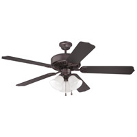 Craftmade Pro Builder 205 3 Light 52-inch Ceiling Fan (Blades Sold Separately) in Oiled Bronze C205OB