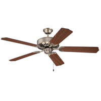 Craftmade Pro Builder 52-inch Ceiling Fan Motor Only in Antique Brass C52AB