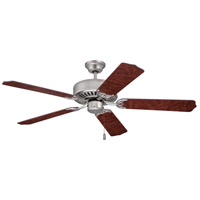 Craftmade Pro Builder 52-inch Ceiling Fan Motor Only in Brushed Satin Nickel C52BN