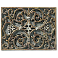 Signature Renaissance Crackle Chime, Carved Recessed