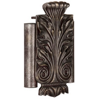 Acanthus Leaf Renaissance Crackle Chime, Twin Tube