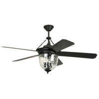 Craftmade CAV52ABZ5LK Cavalier 52 inch Aged Bronze Brushed with Aged Bronze Blades Ceiling Fan, Blades Included