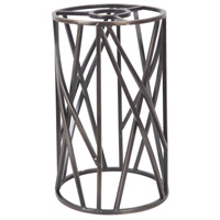 Design-A-Fixture Aged Bronze 5 inch Mini Pendant Cage in Aged Bronze Brushed