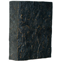 Teiber Dark Faux Stone with Gold Highlights Door Chime