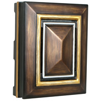 Craftmade CH5202-DO Signature Dark Oak with Gold and Silver Chime, Large