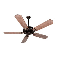 Craftmade K10069 Civic 52 inch Oiled Bronze with Washed Walnut Birch Blades Ceiling Fan With Blades Included in Plywood Blades, Custom Wood, 0, Light Kit Sold Separately