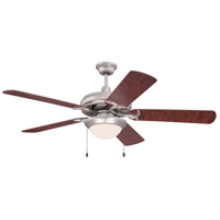 Craftmade Civic 2 Light 52-in Indoor Ceiling Fan in Brushed Nickel CIU52BN5