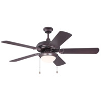 Civic 52 inch Oiled Bronze Indoor Ceiling Fan
